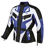 Bangla 1535 Kinder Motorrad Jacke Textilmaterial Cordura 600 Blau 128
