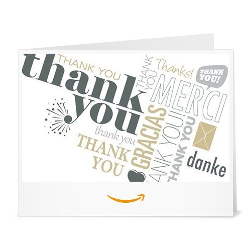 Amazon.de Gutschein zum Drucken (Danke weltweit)