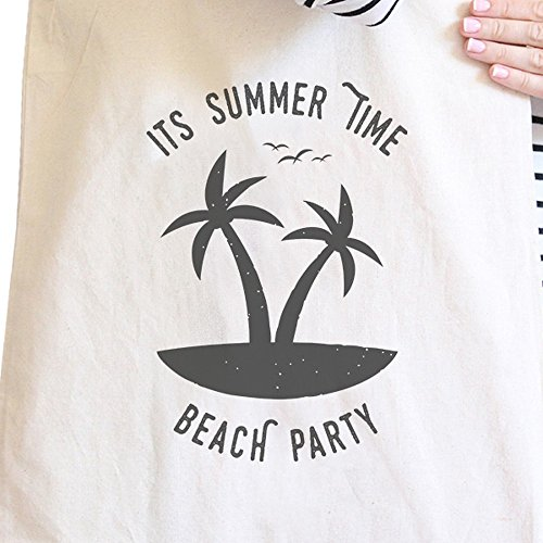 365 Printing inc , Borsa da spiaggia  Donna Enjoy The Sunshine Misura unica It's Summer Time Beach Party