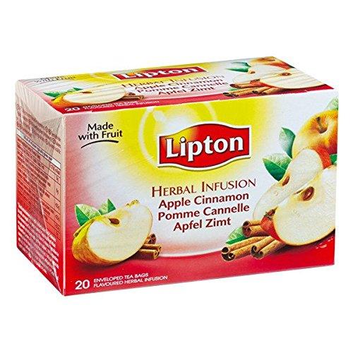 LIPTON - APFEL ZIMT - 6 x 20 Teebeutel (gesamt:120 st)