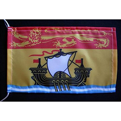 Everflag Tischflagge 15x25 : New Brunswick (Neu Braunschweig)