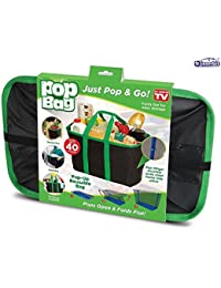 Taha Pop Bag: Eco-Friendly, Collapsible, Reusable Shopping/Storage Bag - Holds Up To 40 Lbs