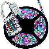 MLD RGB Remote Control Plastic LED Strip Light Colour Changing for Diwali