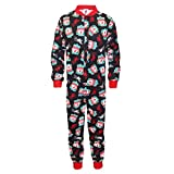 Liverpool FC Official Gift Boys Kids Pyjama All-In-One Black 9-10 Years