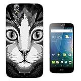 003624 - Kawaii Cute Cat Design Acer Liquid Z630 Z630S