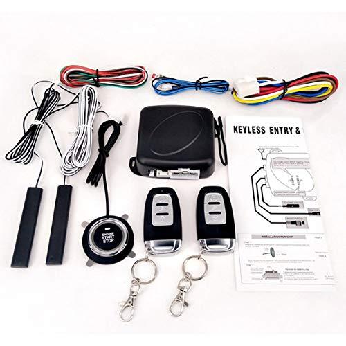 Passives Keyless-Entry-System PKE Motor Starter Push Button Fahrzeuge Start/Stop Kit Safe Lock mit 2 Smart Key