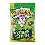 #4: Warheads Extremely Sour Candy: 92g (3.25oz) Bag