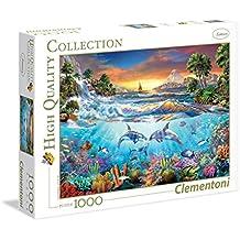Clementoni - Puzzle de 1000 piezas, diseño Bajo el mar (39335.0)