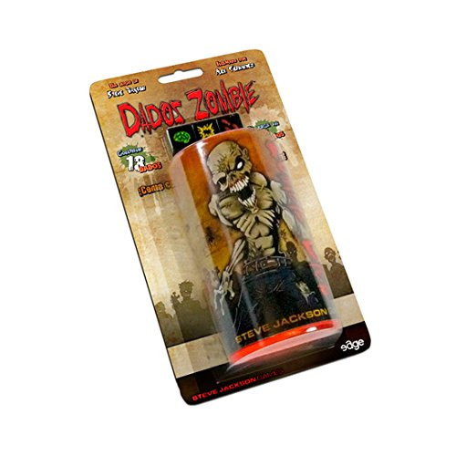 Asmodee Dados Zombie, juego de mesa (Edge Entertainment EDGSJ02)