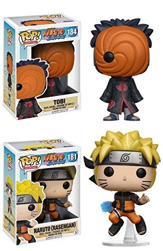 Funko POP! Tobi + Naruto (Rasengan) - Pack de figuras