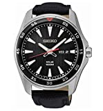 Best Seiko Watches - Seiko Men's Analogue Manual Watch with Textile Strap Review