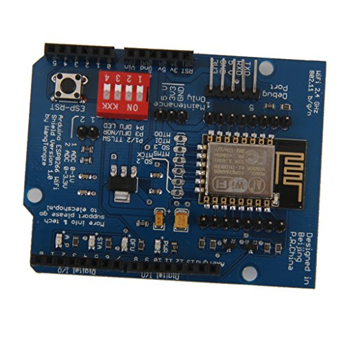 MagiDeal ESP8266 ESP-12E UART WIFI WLAN Schild Development Board für Arduino UNO R3 - Serie-modem Board