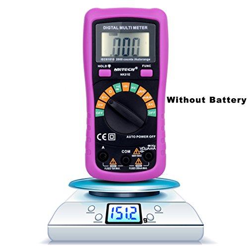 Preisvergleich Produktbild nktech nk51e LCD Hintergrundbeleuchtung Auto Range Digital Multimeter AC DC Spannung Strom Kapazität Frequenz Widerstand Tester Meter Kit Prüfspitzen 2-Komponenten-VS Uni-T UT136B
