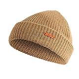 Cebbay Bonnet Hommes Unisexe Femmes Chapeau à Bord,Chaud Turban Crochet Headwear...