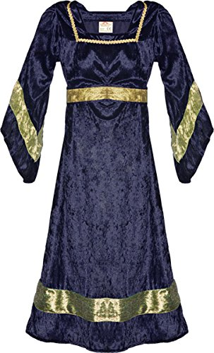 Fantashion m 93–castellana, costume da principessa, blu, taglia 3 (l)