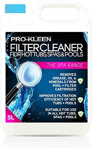 Pro-Kleen, Filter-Reiniger für Whirlpools, Pools und Spas, für 10 Behandlungen, 5 l