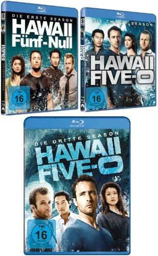 Hawaii Five-O - Season 1-3 [Blu-ray] im Set - Deutsche Originalware [18 Blu-rays]