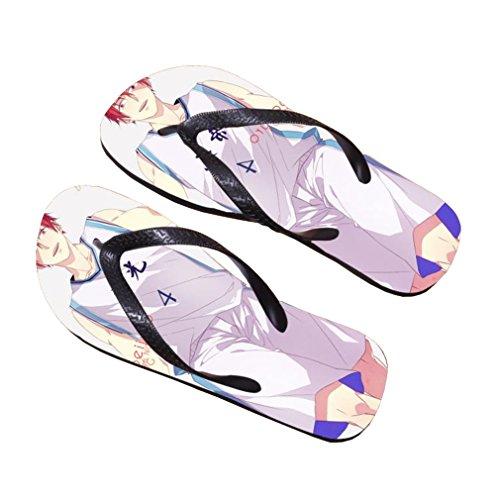 Bromeo Kuroko No Basuke Anime Unisex Flip Flops Zehentrenner Flip Pantoffeln 450