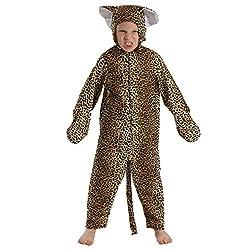 Charlie Crow Leopard Kostüm für Kinder 3-5 Jahre.