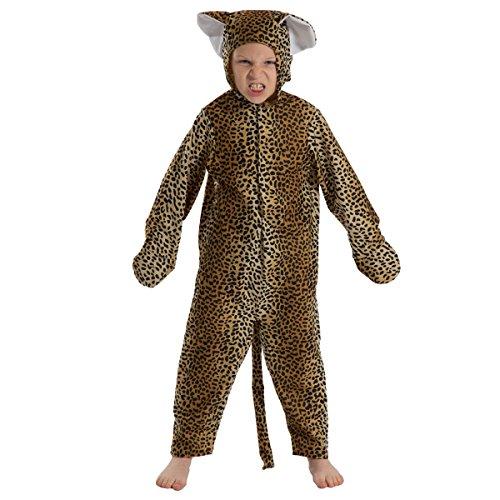 Unbekannt Charlie Crow Leopard Kostüm für Kinder 3-5 ()