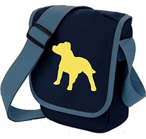 Bag Pixie, Borsa a spalla donna Fawn Dog on Blue