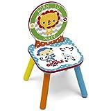 Fisher-Price Chaise pour Enfants, Bois, Multicolore, 27 x 27 x 52 cm...