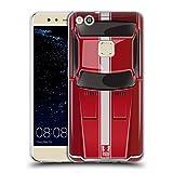 Head Case Designs Speed Rot Klassische Automobile Soft Gel Hülle für Huawei P10 Lite