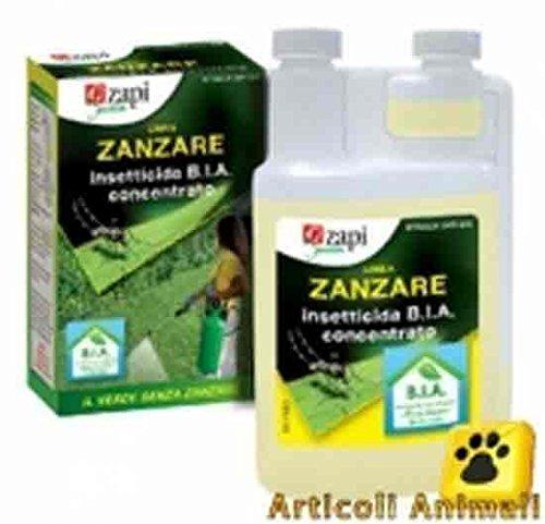 Zapi Zanzare Tator concentrato B.I.A., insetticida antizanzare da 1 litro