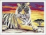 Ravensburger Malen nach Zahlen 28553- Majestätischer Tiger, Malset von Ravensburger