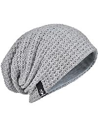 Hommes Bonnets Slouch Beanie Crâne Tricoter Grand Ski Hiver Chapeaux B08 c5b04057f25