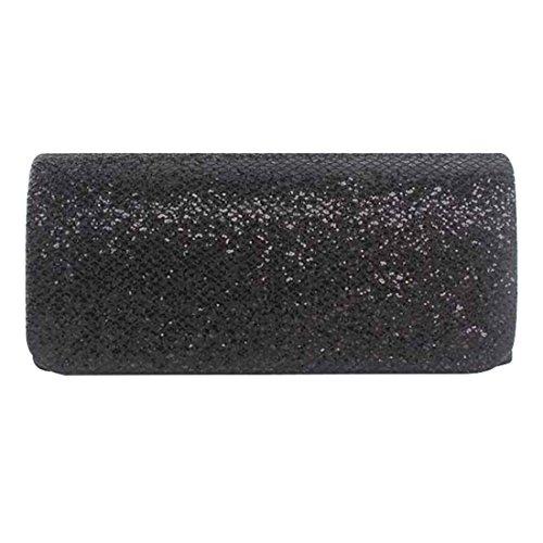 SSMK Small Clutch Bag, Poschette giorno donna Black