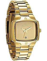 Nixon A300511-00 - Reloj analógico de cuarzo para mujer con correa de acero inoxidable