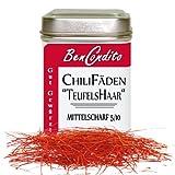 Rote Chilifäden - Hauchfein geschnitten aus Chilischoten 15 Gramm