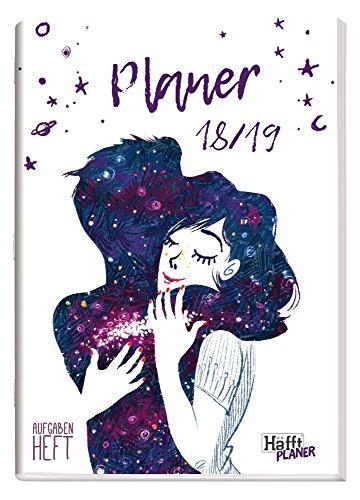Häfft PLANER A5 2018/2019 [One with the Universe] Hausaufgabenheft/Schülerkalender/Schüler-Tagebuch/Schülerplaner