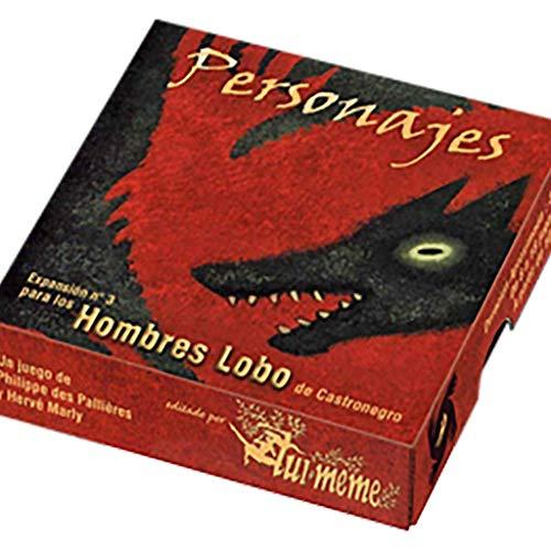 Asmodee. Hombres Lobo de Castronegro: Personajes - Español, Color. (1)