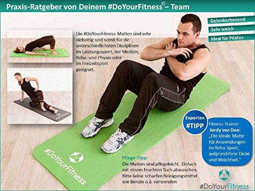 Fitnessmatte »Yamuna« / EXTRA-dick und weich, ideal für Pilates, Gymnastik und Yoga, Maße: 183 x 61 x 1,5cm, schwarz - 6