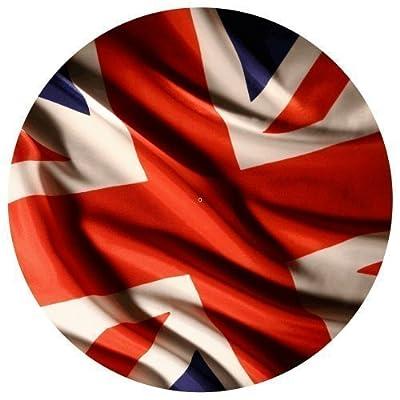 DJ Record Turntable Slipmats BRITISH FLAG UK TURNTABLE SLIPMAT x 1 (Single) birthday funny gift for him for her