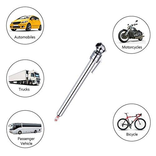 Asnlove Dispositivo Misura Pressione per Pneumatici, Veicolo Pneumatici Auto Pneumatici Auto Motore Tester Pressione P