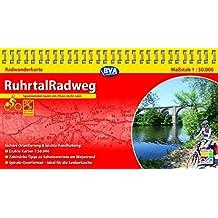 Kompakt-Spiralo BVA RuhrtalRadweg Von der Quelle bis zur Mündung Radwanderkarte 1:50.000: mit Begleitheft