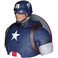Capitán América Spardose Marvel Superhelden Sammlerfigur Büste groß 19cm Kunststoff - Fig-hucha capitan america (22cm)