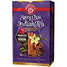 Pompadour Spicy Chai Indian Té - 10 Cápsulas