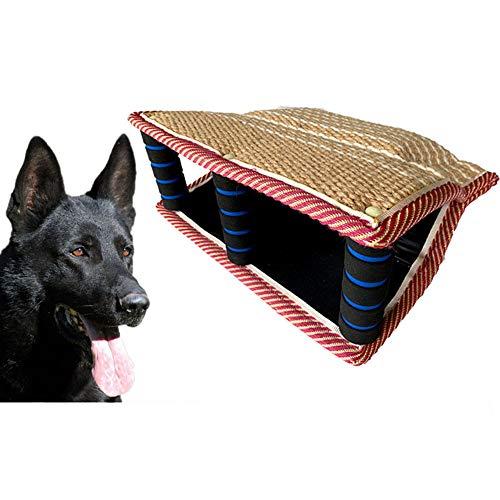 Hundetraining Bisskissen Biss Ärmel Fliegen reißfest Durable Hundebiss Ärmel Spielzeug für junge Hunde Welpen Training spielen 13,8 '' × 9,8 ''