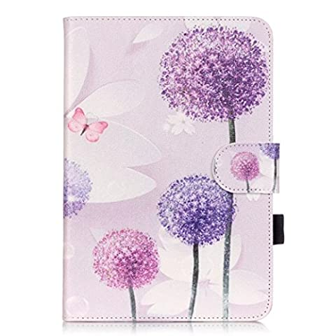 Etui Luxe Cuir Rotatif pour iPad Mini 1/2/3 Tablette Coque,Vandot Etui de protection Pochette Stand Coque Tablet avec Rotation Multi Angle Fonction Support Housse pour iPad Mini 1/2/3 Hull + Fashion Pendentif Charm Hairball