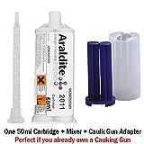 Huntsman Araldite 2011slow-setting-Epoxy (LSF15/ML + Fugen Gun Adapter Kit)