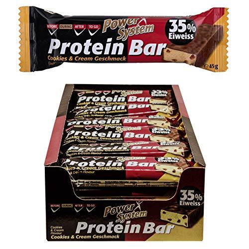 Power System Protein Bar 35{c7541c9daa0bde43c69408649c118de5e2f42c08b55c66a0bf34257e5f54cffa} - 24 x 45g (Joghurt)