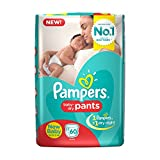 Pampers Pants New Born Diapers (60 Pieces)