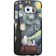 Drawing Painting Snoopy Phone caso Cover for Funda Samsung Galaxy S6 Edge Plus Snoopy Cartoon Design