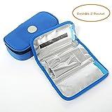 Enshey Portable Insulin Kühltasche Kühler Krankheitsfall für Diabetes Insulin und