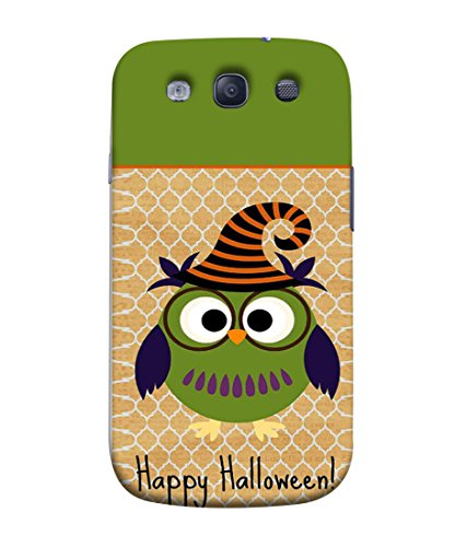 PrintVisa Designer Back Case Cover for Samsung Galaxy S3 (happy halloween funky funny look)  available at amazon for Rs.379