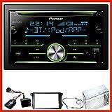 Pioneer FH-X730BT Bluetooth Einbauset für Golf 5 6 Passat 3C CC B7 Touran